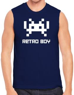 Polo Sin Mangas de Retro Boy