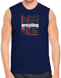 Wrestling Words Sleeveless