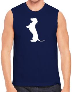 Begging Dachshund Sleeveless
