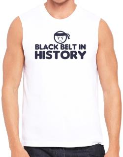 Black Belt In History Sleeveless