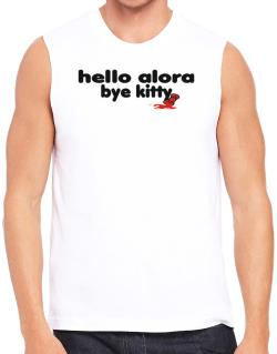 Hello Alora Bye Kitty Sleeveless