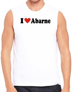 I Love Abarne Sleeveless