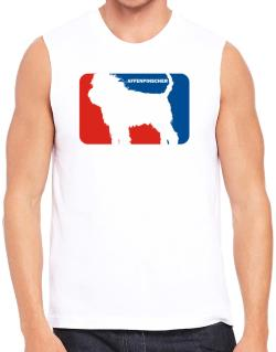 Affenpinscher Sports Logo  Sleeveless