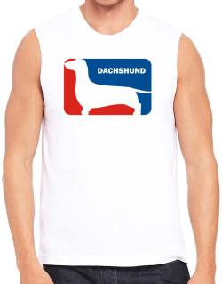 Dachshund Sports Logo Sleeveless