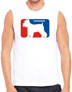 Schnauzer Sports Logo  Sleeveless