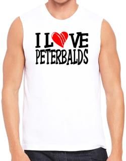 I Love Peterbalds - Scratched Heart Sleeveless