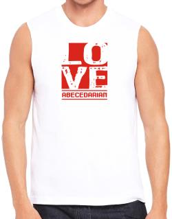Love Abecedarian Sleeveless