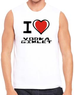 I Love Vodka Gimlet Sleeveless