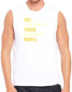 """ Those depressed people "" Sleeveless"