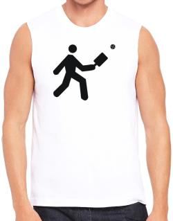 Pickleball Stickman Sleeveless