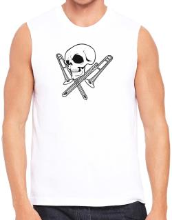 Skull and Trombone Sleeveless