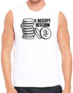 I accept Bitcoin Sleeveless