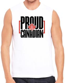 Canada proud Canadian Sleeveless