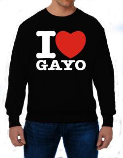 I Love Gayo Sweatshirt