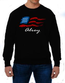 Alroy - Us Flag Sweatshirt