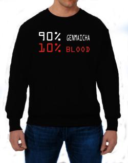 90% Genmaicha 10% Blood Sweatshirt