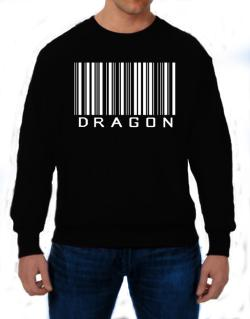 Dragon Barcode / Bar Code Sweatshirt