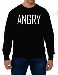 Angry - Simple Sweatshirt