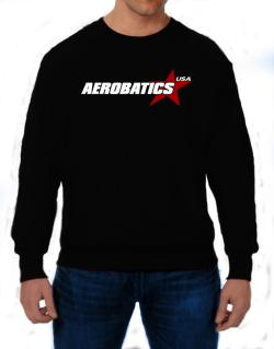 Aerobatics Usa Star Sweatshirt