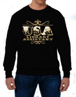 Usa Library Assistant Sweatshirt