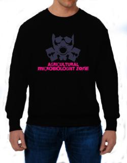 Agricultural Microbiologist Zone - Gas Mask Sweatshirt