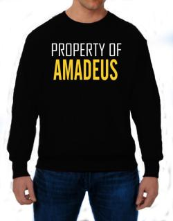 Property Of Amadeus Sweatshirt