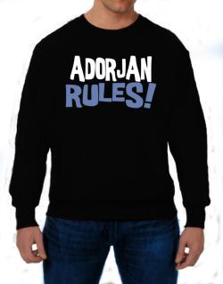 Adorjan Rules! Sweatshirt