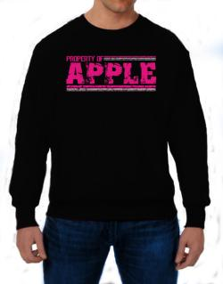 Property Of Apple - Vintage Sweatshirt
