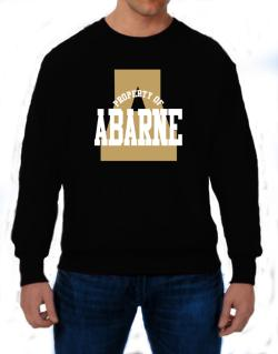 Property Of Abarne Sweatshirt