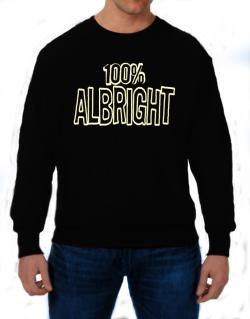 100% Albright Sweatshirt