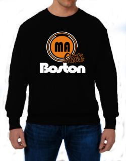 Boston - State Sweatshirt
