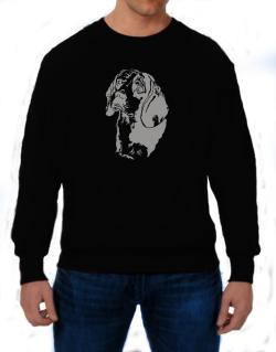 Beagle Face Special Graphic Sweatshirt