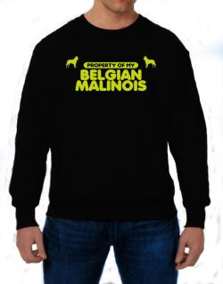 Property Of My Belgian Malinois Sweatshirt