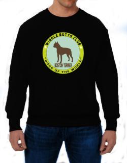 Boston Terrier - Wiggle Butts Club Sweatshirt