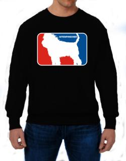 Affenpinscher Sports Logo  Sweatshirt