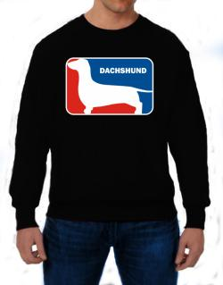 Dachshund Sports Logo Sweatshirt