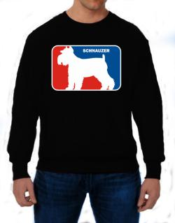 Schnauzer Sports Logo  Sweatshirt