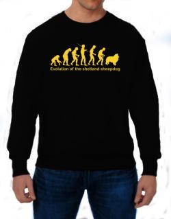 Evolution Of The Shetland Sheepdog Sweatshirt