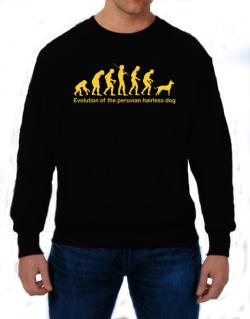 Evolution Of The Peruvian Hairless Dog Sweatshirt