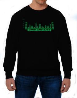 Drum And Bass - Equalizer Sweatshirt