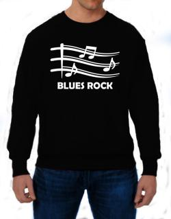 Blues Rock - Musical Notes Sweatshirt