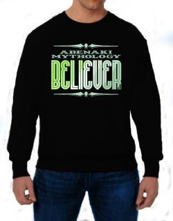 Abenaki Mythology Believer Sweatshirt