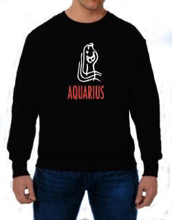 Aquarius - Cartoon Sweatshirt
