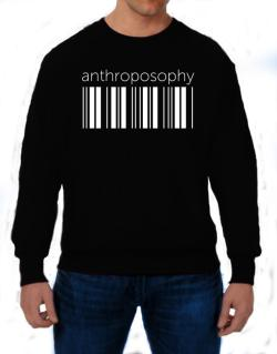Anthroposophy barcode Sweatshirt