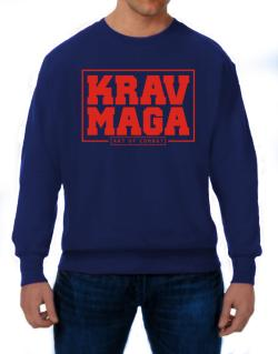 Krav maga art of combat Sweatshirt