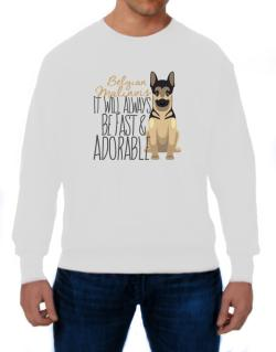 Polera de It will always be fast & adorable Belgian malinois