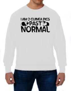 I am two guinea pigs past normal Sweatshirt