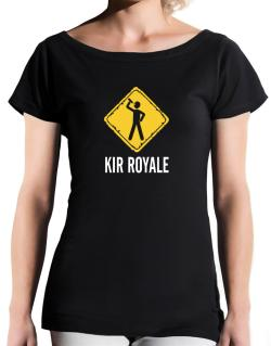 Kir Royale T-Shirt - Boat-Neck-Womens