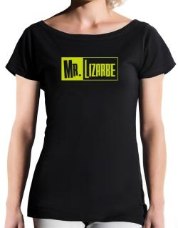 Mr. Lizarbe T-Shirt - Boat-Neck-Womens
