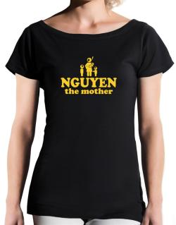 Nguyen The Mother T-Shirt - Boat-Neck-Womens